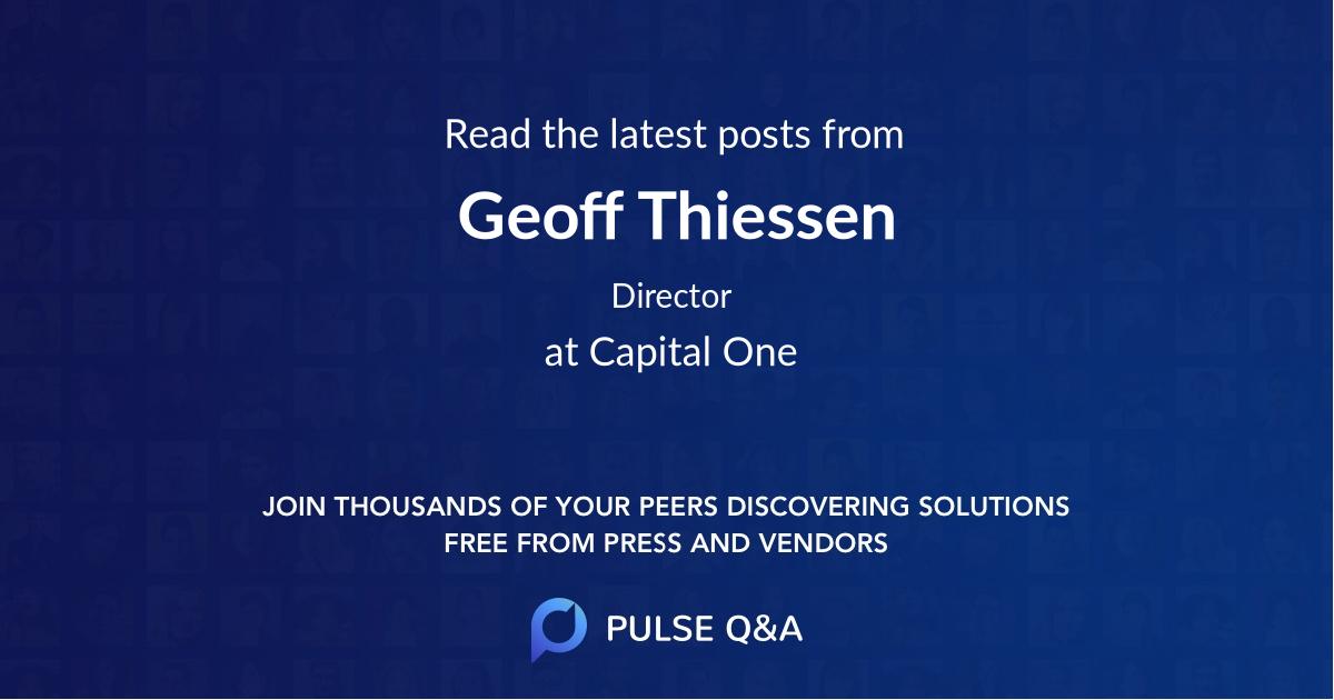 Geoff Thiessen