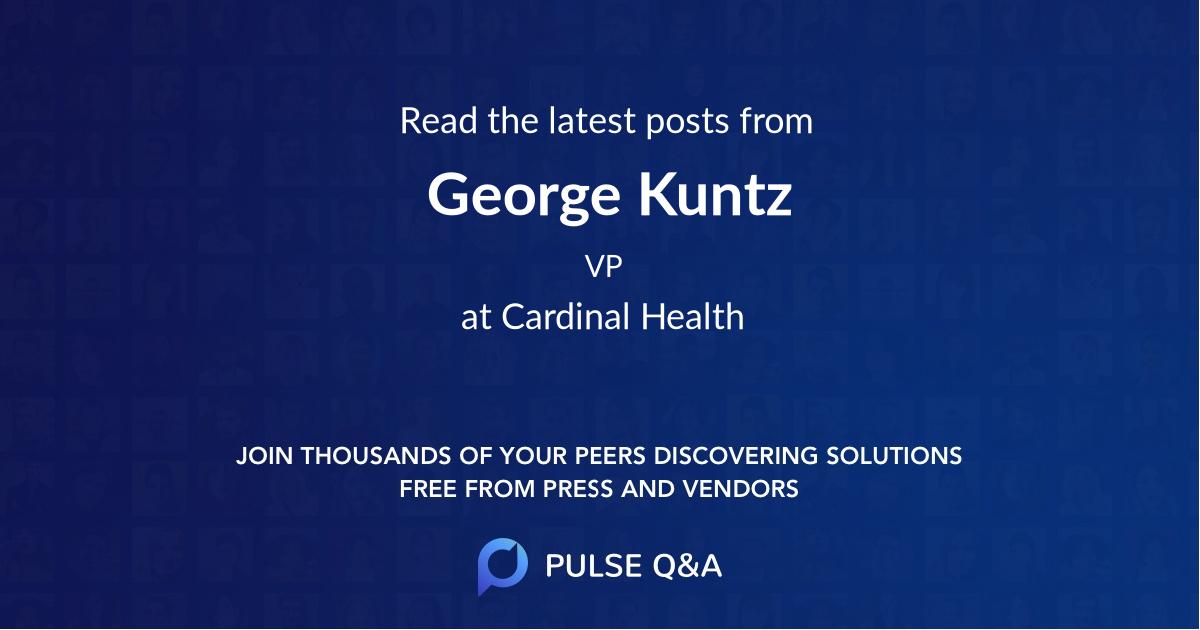 George Kuntz
