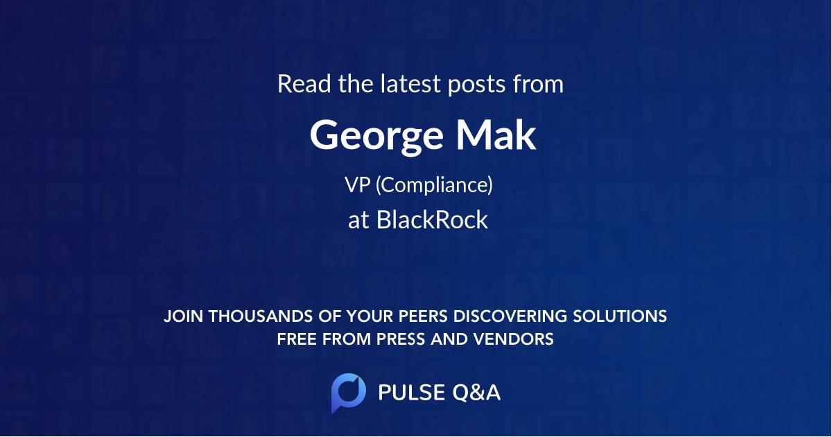 George Mak