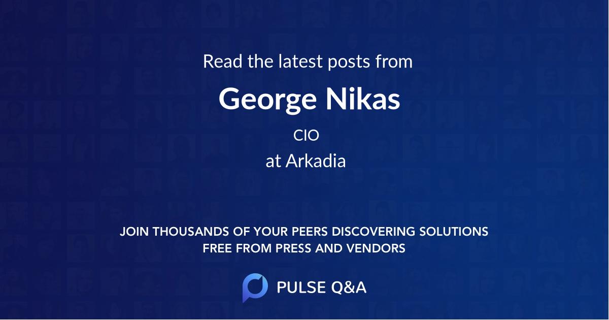 George Nikas