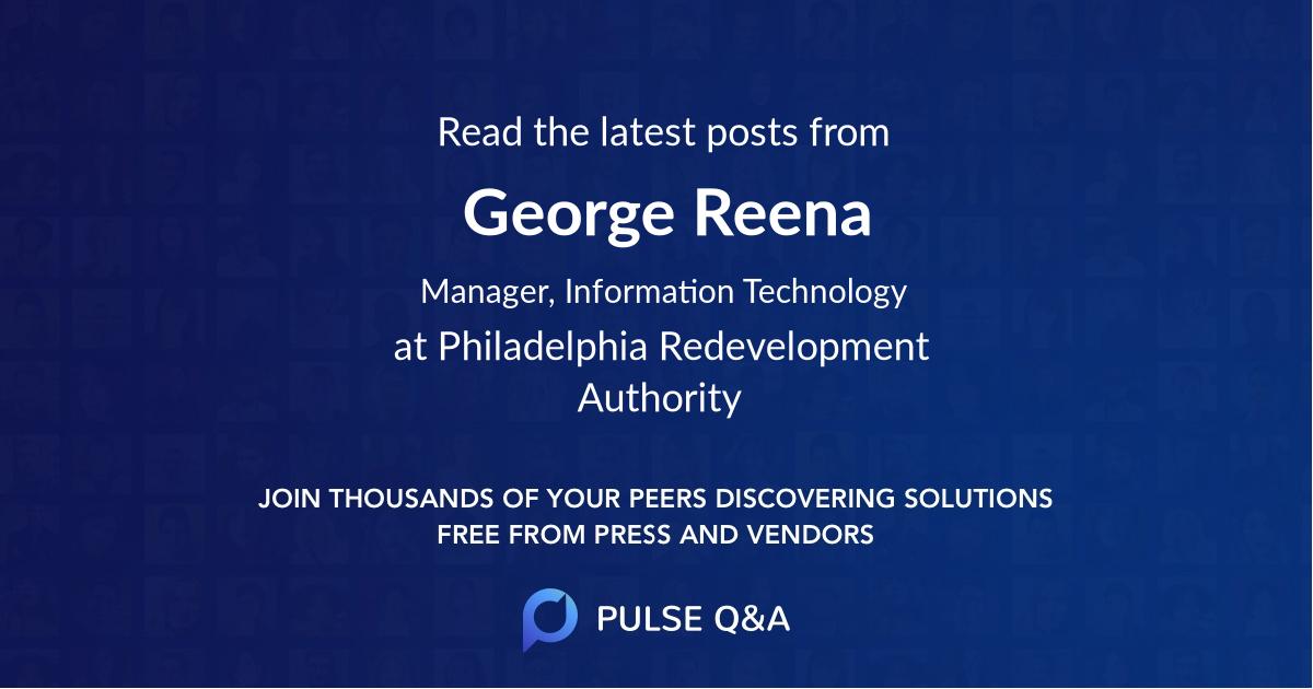 George Reena