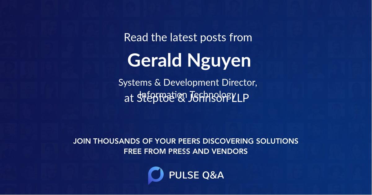 Gerald Nguyen