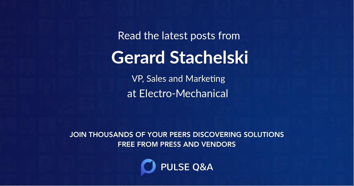Gerard Stachelski