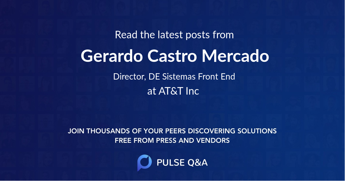 Gerardo Castro Mercado