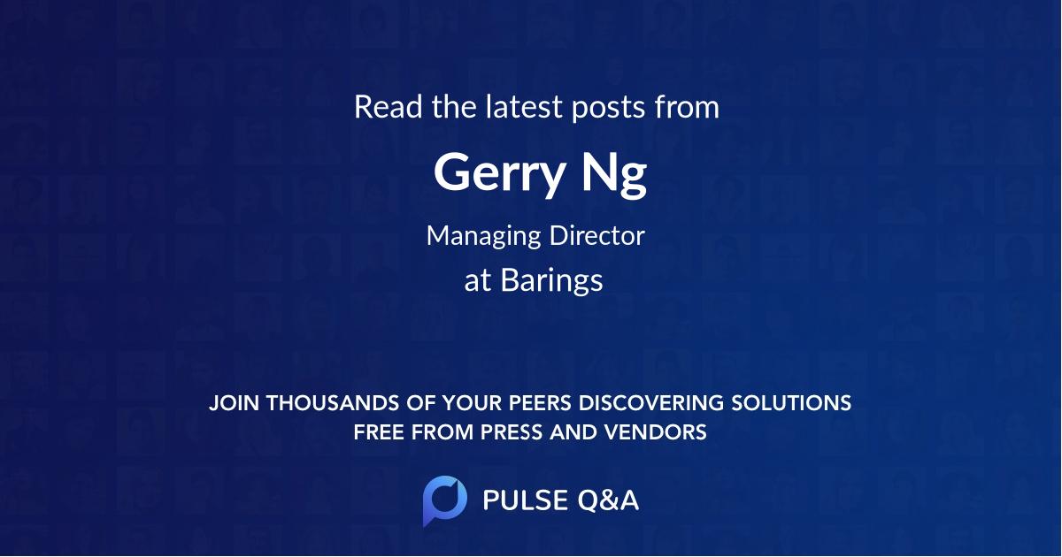 Gerry Ng