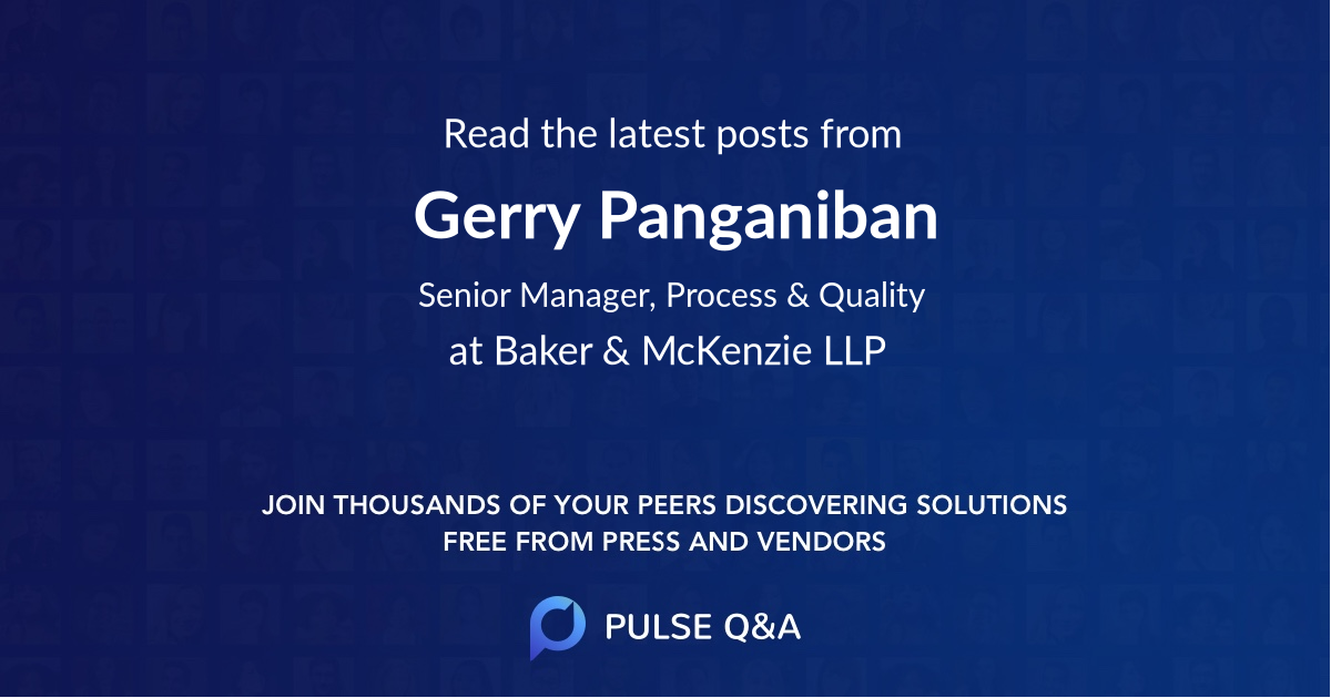 Gerry Panganiban