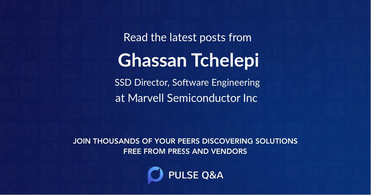 Ghassan Tchelepi