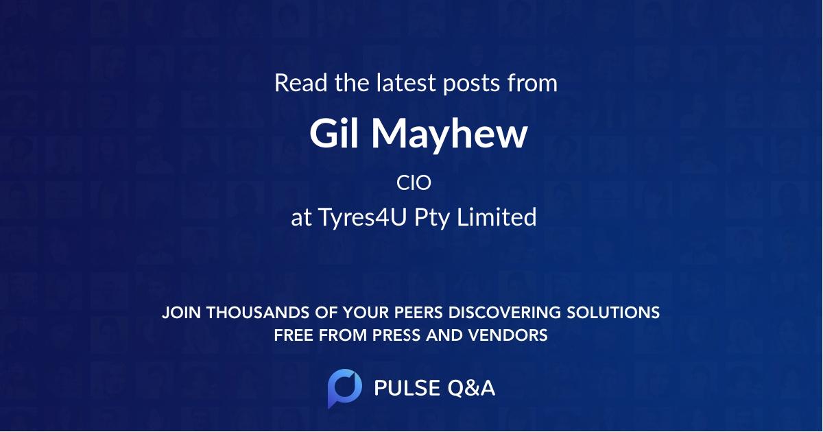 Gil Mayhew