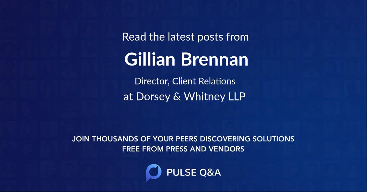 Gillian Brennan