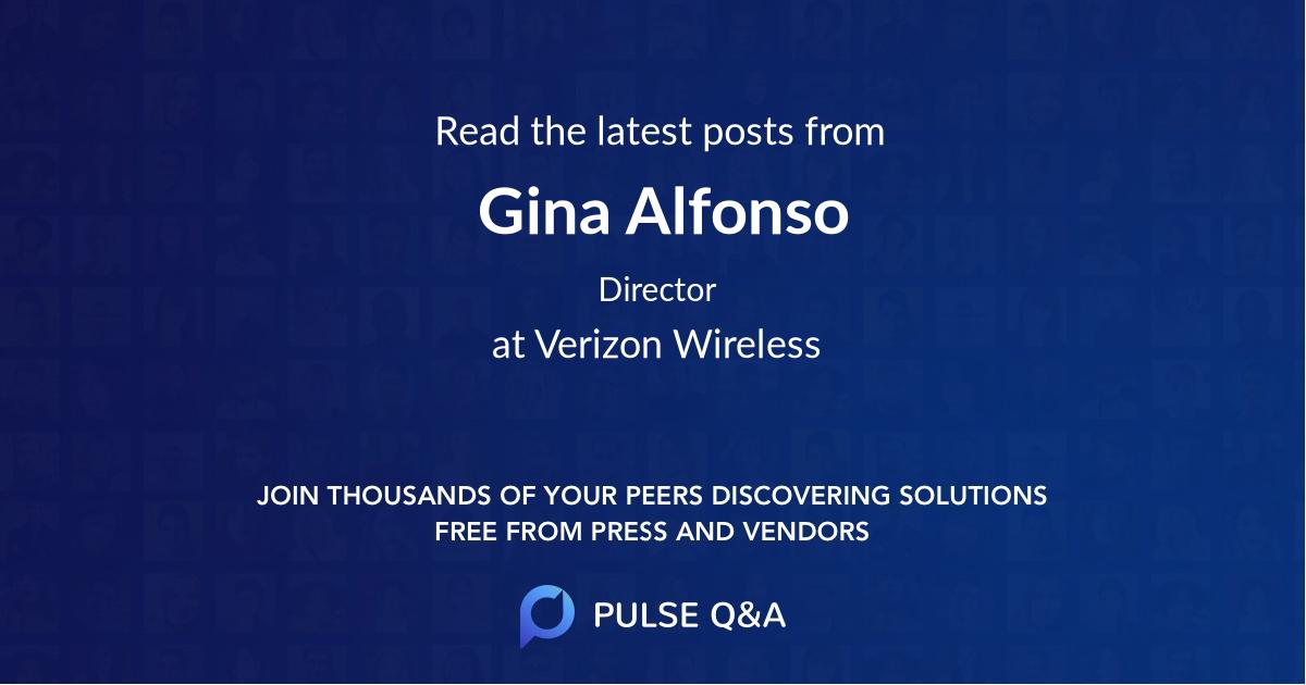 Gina Alfonso