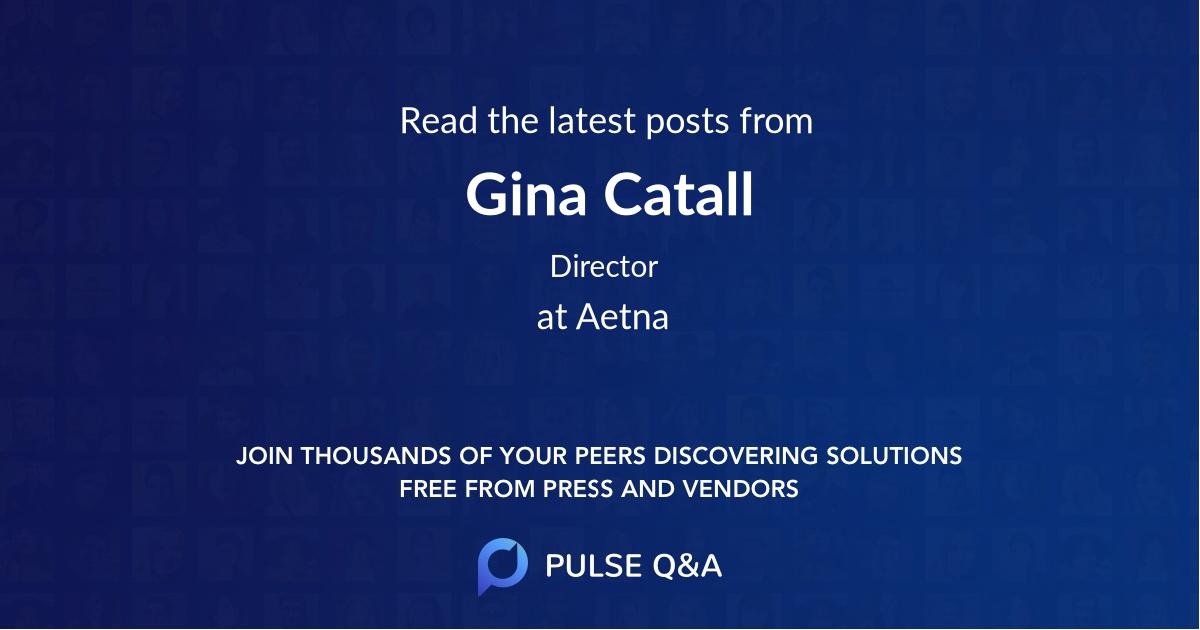 Gina Catall