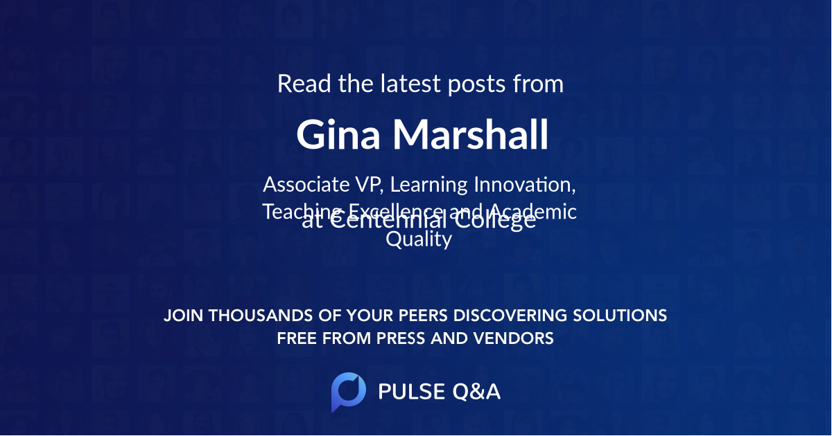 Gina Marshall