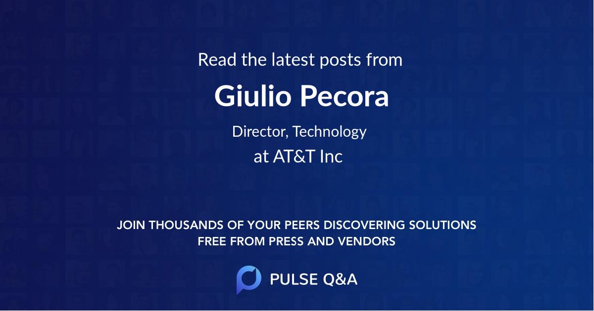 Giulio Pecora
