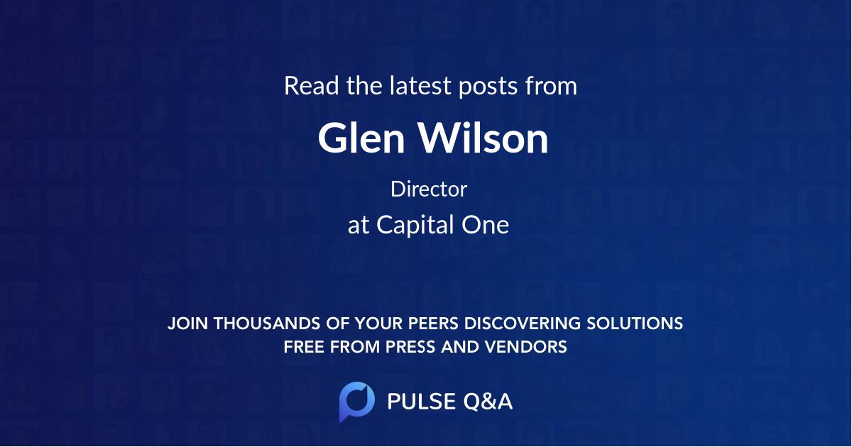 Glen Wilson