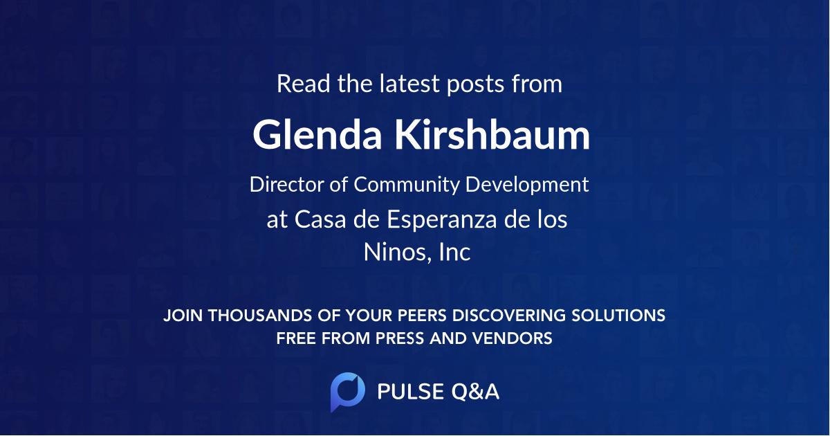 Glenda Kirshbaum