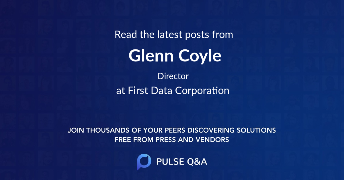 Glenn Coyle