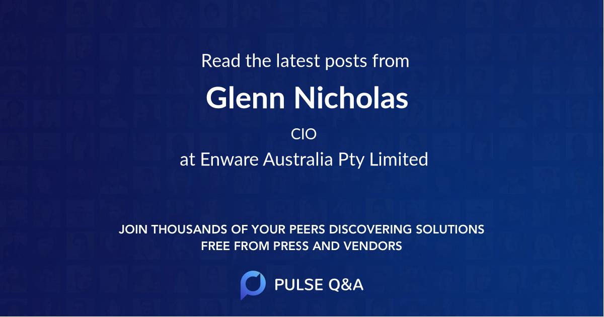 Glenn Nicholas