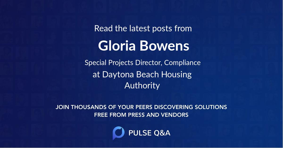 Gloria Bowens