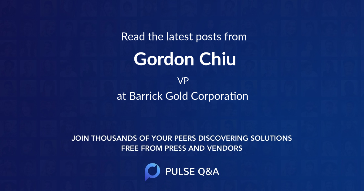 Gordon Chiu