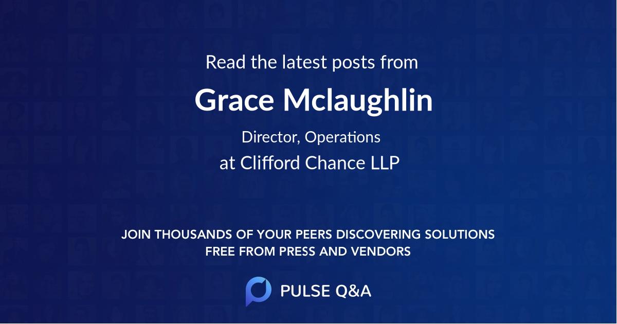 Grace Mclaughlin