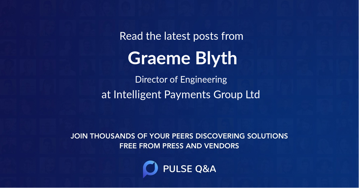 Graeme Blyth