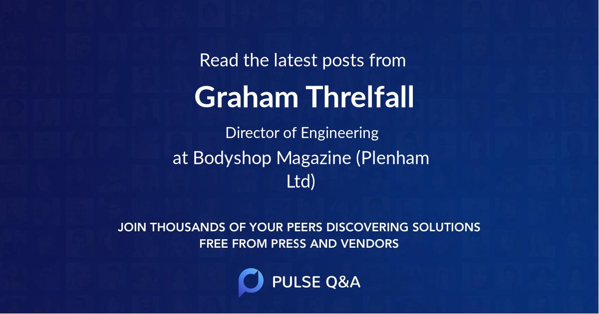 Graham Threlfall