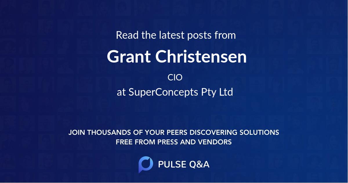 Grant Christensen