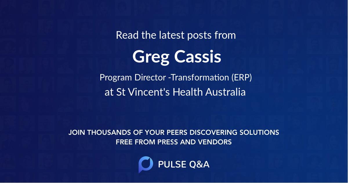 Greg Cassis