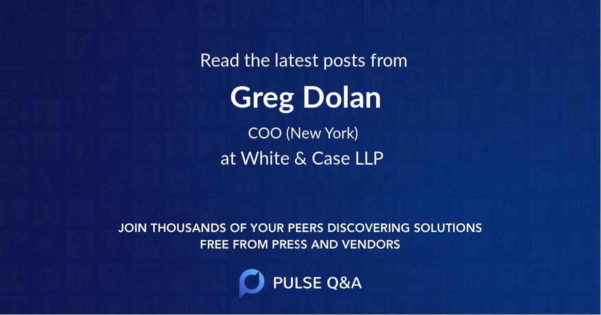 Greg Dolan
