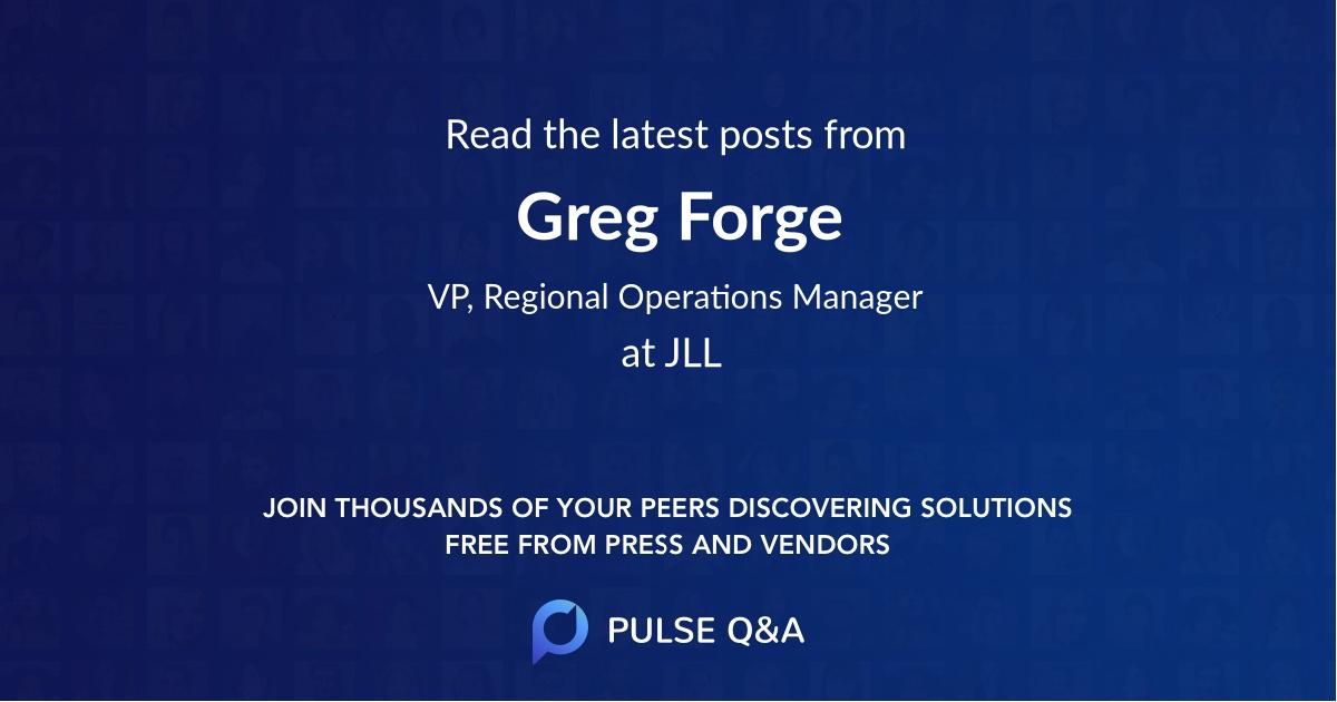 Greg Forge