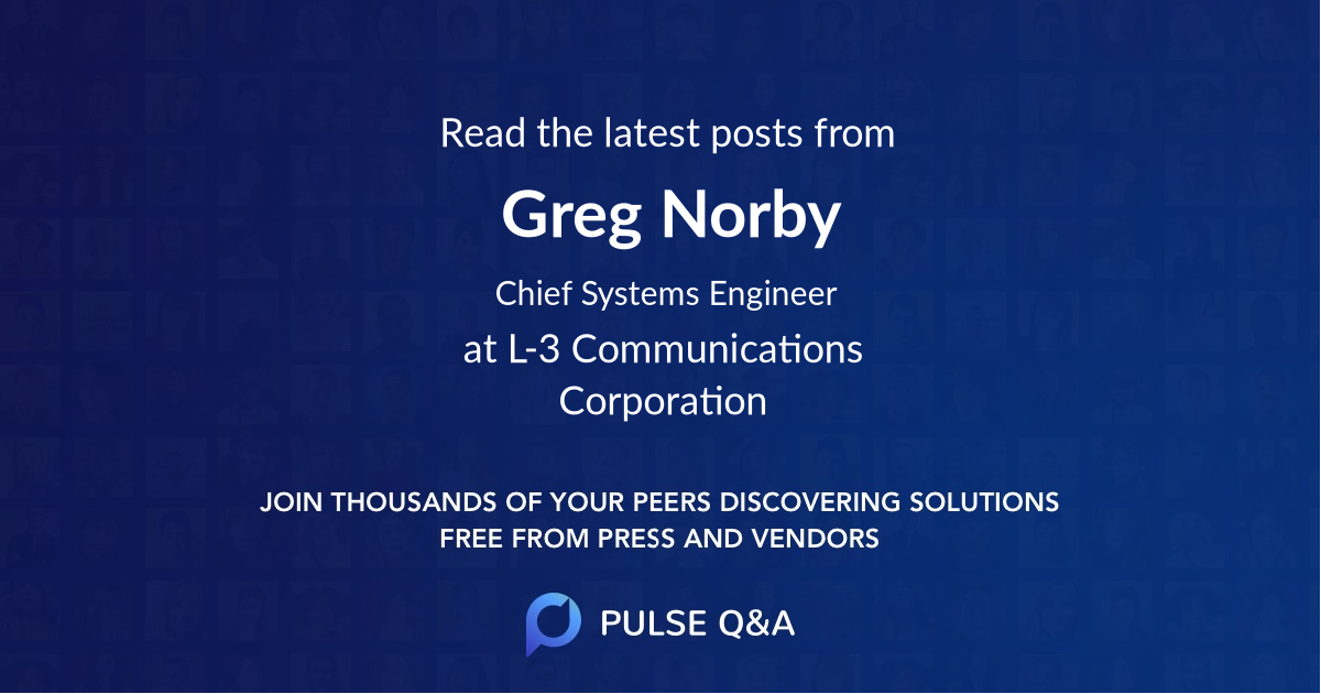 Greg Norby