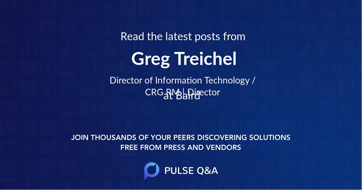 Greg Treichel
