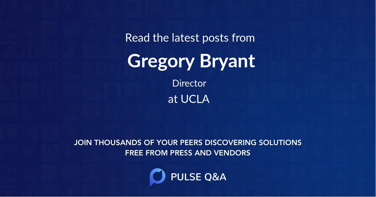 Gregory Bryant