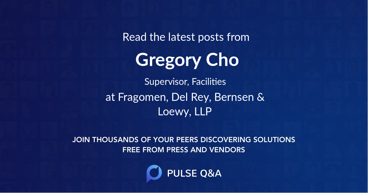 Gregory Cho
