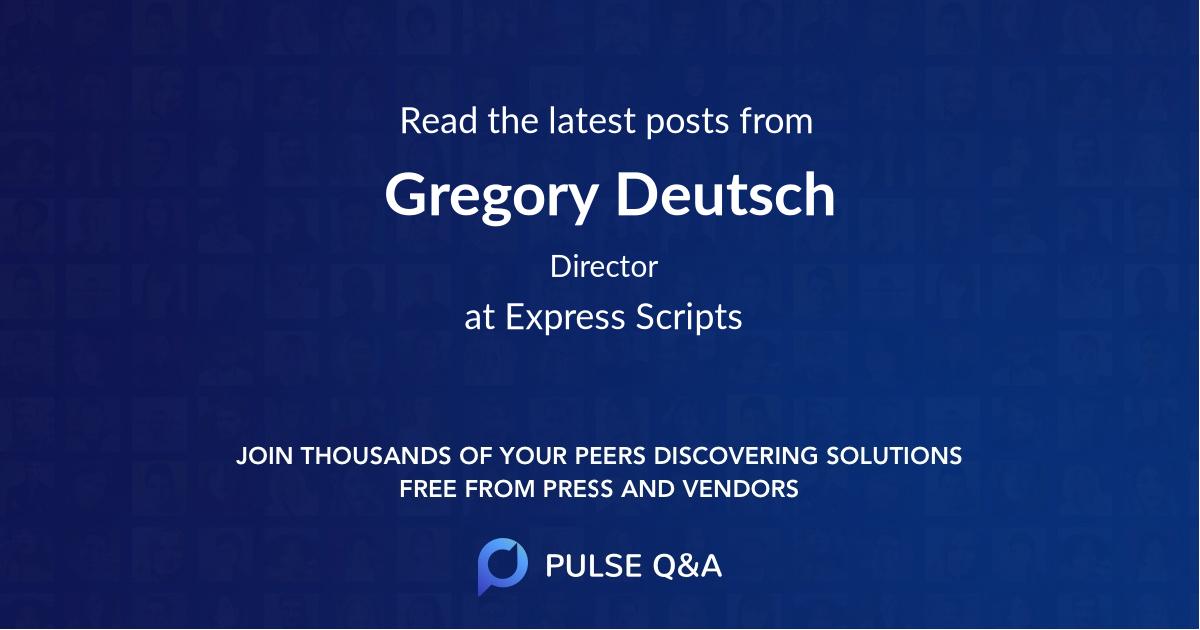 Gregory Deutsch