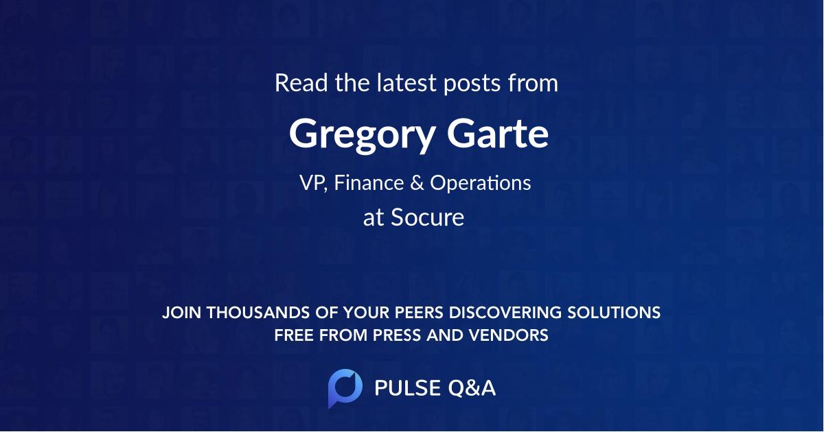 Gregory Garte