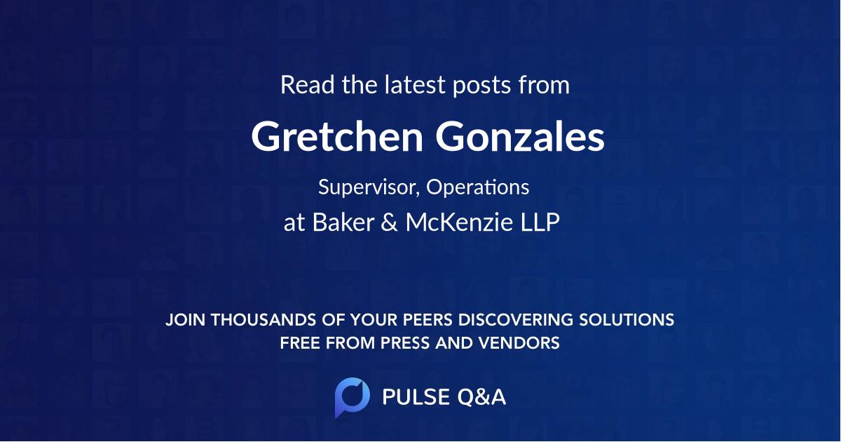 Gretchen Gonzales