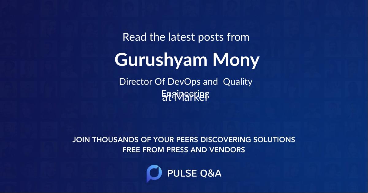 Gurushyam Mony
