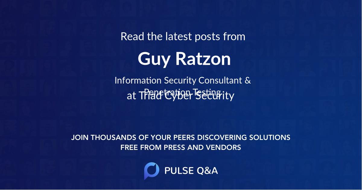 Guy Ratzon