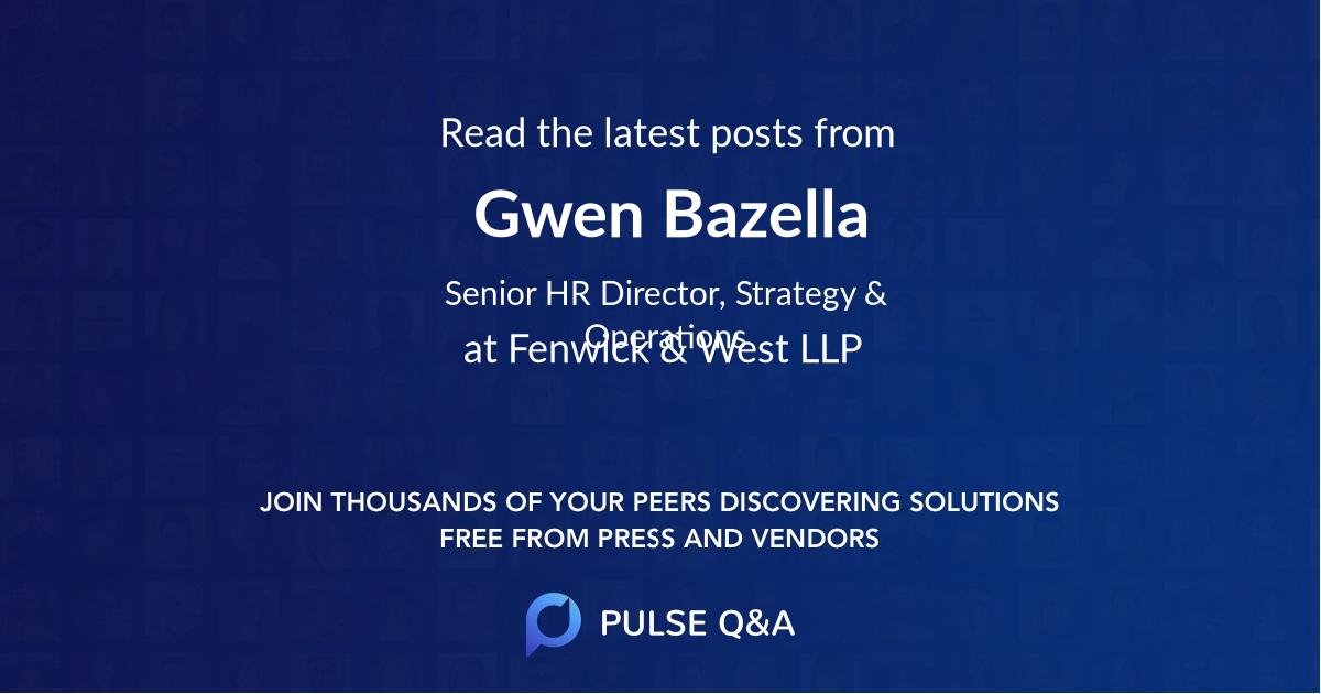 Gwen Bazella