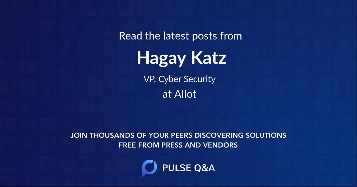 Hagay Katz