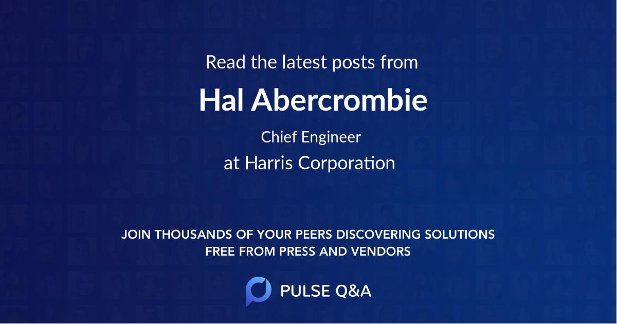 Hal Abercrombie