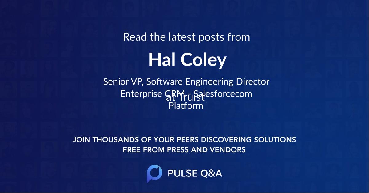 Hal Coley