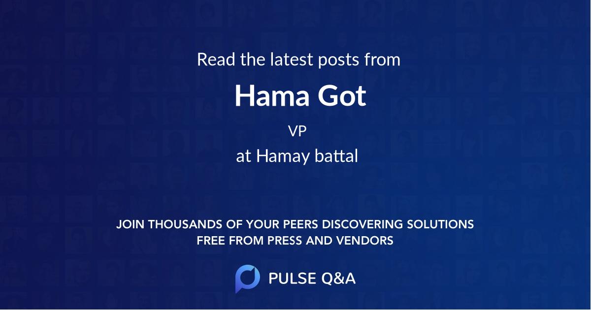 Hama Got