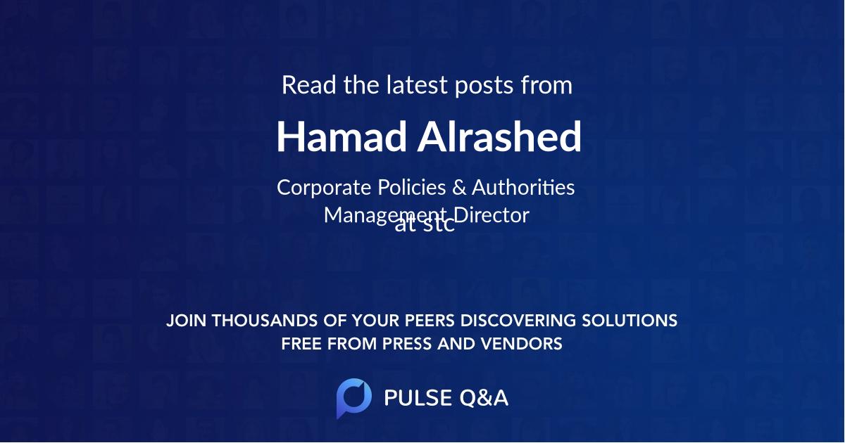 Hamad Alrashed