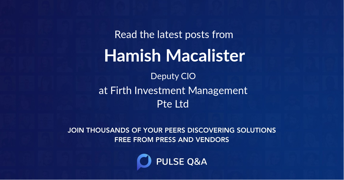 Hamish Macalister