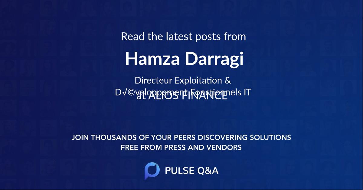 Hamza Darragi