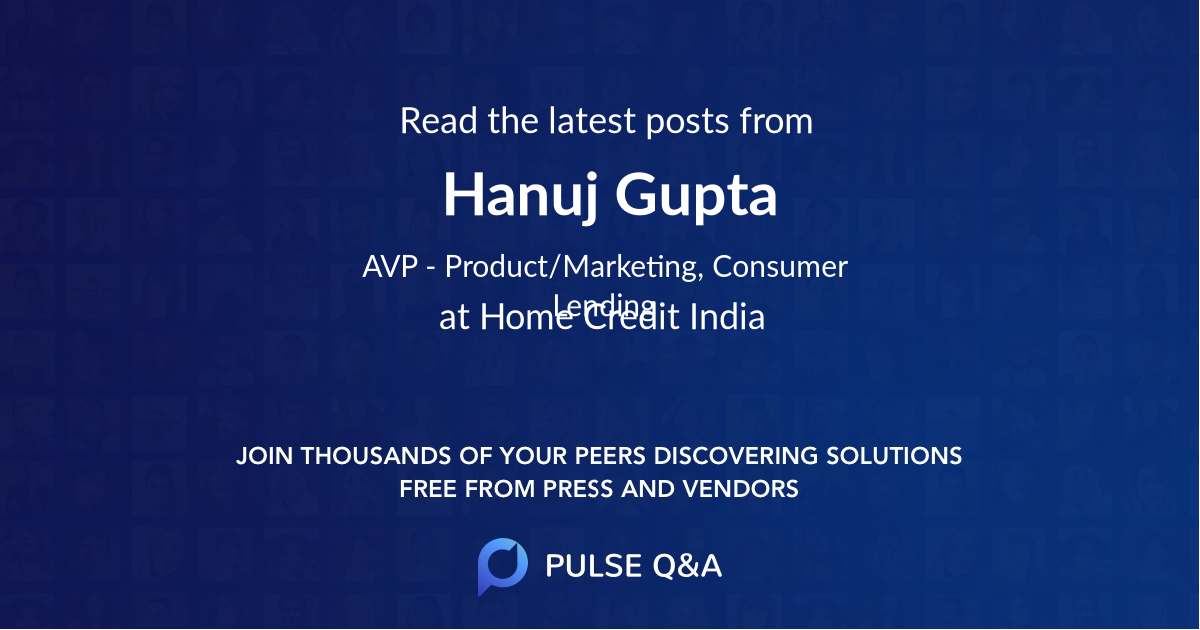 Hanuj Gupta