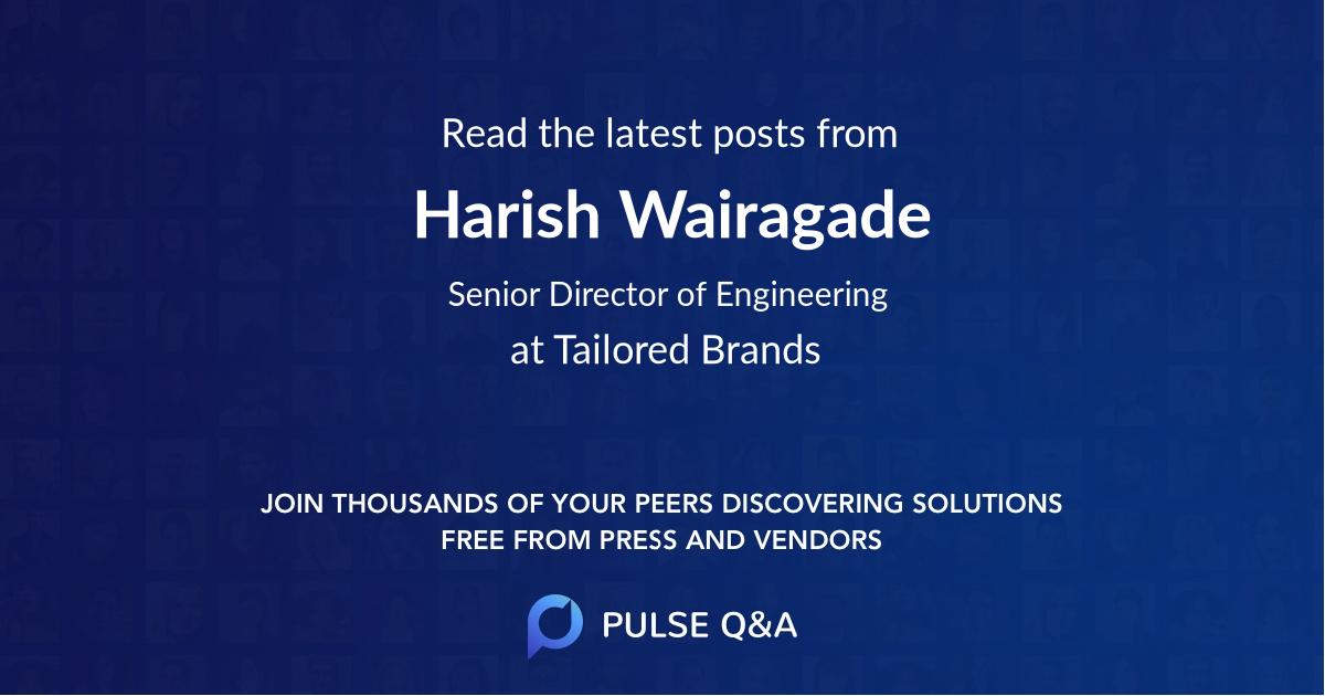 Harish Wairagade