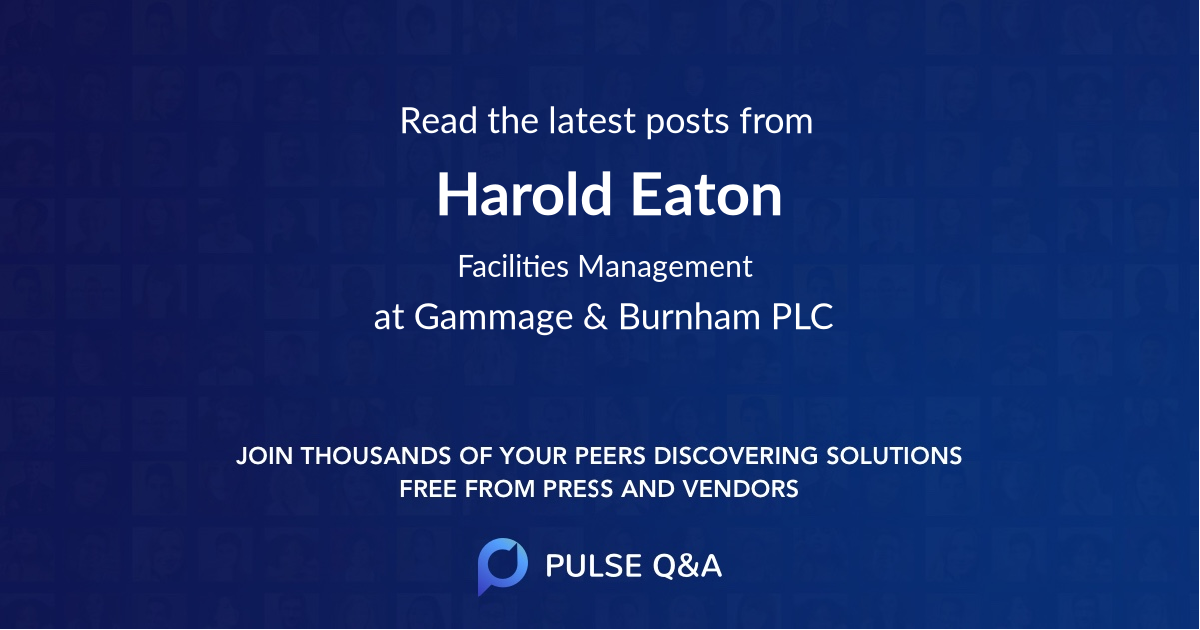 Harold Eaton